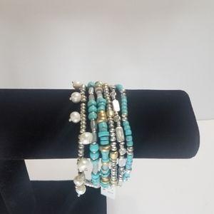 Lucky Brand Lucky Layers Multistrand Bracelet Faux